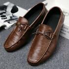 British Mens Leisure Square Toe Slip On Loafer Shoes Moccasins Driving Shoes New