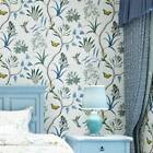 FLORAL WALLPAPER - VARIOUS DESIGNS AND COLOURS - FLOWERS BIRDS NATURE 10M