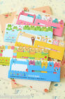 Animals Stick & Memo cartoon Sticky Notes cute planner note pad tabs page marker