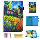 """For Samsung Galaxy Tab A 8.0"""" T380/T385 2017 Flip Folio Stand Leather Case Cover"""