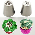 2X Russian Christmas Tree Leaf Cake Icing Piping Nozzles Baking Decorating Tips
