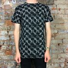 Krew Checkerfade Short Sleeve T-Shirt New in Black - Size:S,