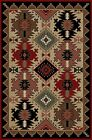 Southwestern Cabin Western Rug Various Sizes and Shapes with FREE Shipping