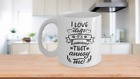 I LOVE DOGS, IT'S HUMANS THAT ANNOY ME MUG