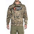New Men`s Browning Wicked Wing Hoodie Realtree Max 5