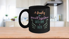 A Family is Pieced Together with Hope and Faith Black Ceramic Coffee Mug11 15 oz
