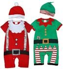 Baby Boy Girl First Christmas Xmas Party Outfit Dress Costume Clothes One Peice