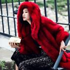 New 100% Real Genuine Fox Fur Hooded Overcoat Thicken Winter Fashion Parka Coat