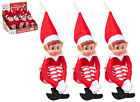 Elf 12 Inch Naughty Behaving Badly place on a Shelf Christmas