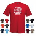 'Discovery' - Mens Land Rover Funny Gift T-shirt 'They say Money can't buy...'