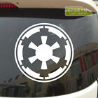 Galactic Empire the Empire Car Decal Sticker Star Wars pick your size and color!