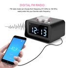Digital LCD Alarm Clock FM Radio with Speaker Function + Dual USB Charging Ports