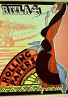 Rizla Rolling Papers Vintage Art Deco Poster Reproduction
