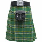 Tartanista Boys Value Green Irish Tartan/Plaid Kilt Size 16 - 28