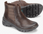 Montana Braylee Coffee Brown Leather Fashion Ankle Bootie Boots