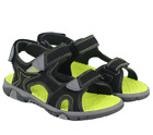 Внешний вид - Khombu Kids Boys Black River Sandal W Adjustable Straps