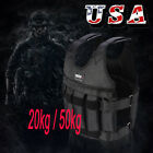 Adjustable Weighted Vest Fitness Weight Training Workout Boxing Jacket 20/50 kg
