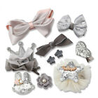 10Pcs/set Baby Girl Hair Clip Bow Flower Barrettes Party Kid