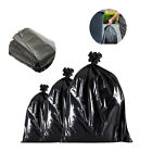 Strong Refuse Sacks Heavy Duty Black Bin Bags Trash Cleaning Rubbish Removal