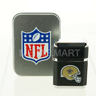 NFL All Teams Windproof Refillable Butane Lighter w/Gift Box *LICENSED SELLER*