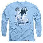 Elvis Presley BLUE VEGAS Licensed Adult Long Sleeve T-Shirt S-3XL