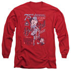 Betty Boop BOOP BALL Classic Baseball Poster Licensed Long Sleeve T-Shirt S-3XL $24.8 USD on eBay