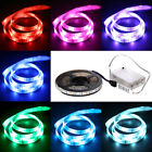 RGB 5050 LED Strip Lights with Battery Box Controller for Chiristmas Decoration