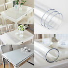 Plastic Table Protector Cover Tablecloth Desk Roll Sheet Protection PVC 100CM