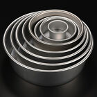 2/4/5/6/7/8/9/10 Cake Baking Mould Aluminum Alloy Round Pan Bakeware DIY Tool *