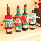 Wine Bottle Cover Wrap Knitted Sweater Hat Christmas Holder Table Decor