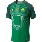 Puma Cameroon 2018 - 2019 DryCell Home Soccer Jersey Green / Red / Yellow