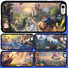 iPhone X 8 8 Plus 7 6s 6 SE 5s 5C 5 Disney Princess Bumper Rubber Case For Apple
