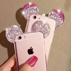 2018 3D Diamonds Mickey Mouse Ears iPhone Case