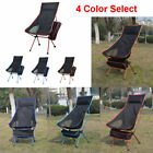 Folding Camping Chair Festival Garden Foldable Fold Up Seat Deck Fishing Stool
