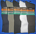 Extra Wide Men's Dress Non-Binding Sock /  For Medical Use & Wide, Swollen Feet