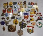 Lot of 52 Pins Pin backs Lapel Brooch Badge Vintage Assorted CLEVELAND INDIANS