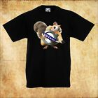 BABY/KID/TODDLER BLACK T-Shirt VOLVO Ice Age Scrat EICHHÖRNCHEN/SQUIRREL