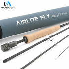 AIRLITE Lightweight Fly Rod 2wt 3wt 7'6'' 4 Pieces IM10 Cordura Fishing Tube