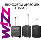 Wizz Air 55x40x23cm Approved Hand Luggage Cabin Holdall Bag - Pack the Maximum