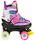 Powerslide Playlife Laja Kids Quad Skates / verstellbare Kinder Rollschuhe