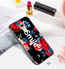 Luxury Shockproof Flower Crystal Bumper Hard Case Cover For Xiaomi Redmi Phones
