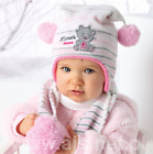 Baby Hats With Scarf - 2pcs set/ Warm Winter /Made in EU/ 6m- 1.5 YEARS