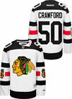 Chicago Blackhawks 50 Corey Crawford 2016 Stadium Series Premier Reebok Jersey