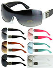 New DG Eyewear Womens Mens Shield Designer Wrap Sunglasses Shades Retro Fashion