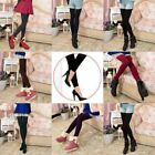 Vogue Women's Thick Warm Winter Knit Pure Thermal Leggings Stretchy Slim Pants