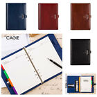 A5 2018 Business Notebook Diary Planner Calendar PU Leather Organizer Gifts New