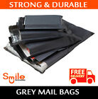 10x14 Grey Mailing Bags Postal Postage Post Mail Strong Poly Self Seal 60mu