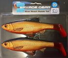 SAVAGE GEAR 3D RIVER ROACH PADDLE TAIL 18cm - 70g RRP: £14.99 - PIKE LURE
