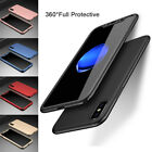 360° Protective Luxury Shockproof Hybrid Slim Case Cover For iPhone X iPhone 10
