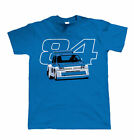 Metro 6R4 84 Rally Car T Shirt - Historic Group B Rally Car Gift for Him Dad